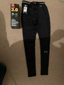 """Under Armour 2.0 Midweight """"coldgear"""" Baselayer Tights - Size Mens Small - BNWT"""