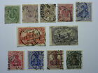 LOT 667 TIMBRES STAMP DIVERS ALLEMAGNE EMPIRE ANNEE 1875/1919