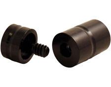BLACK Aluminum Joint Protectors 5/16x14 Jackson/Schon/Joss Pool/Billiard Cues