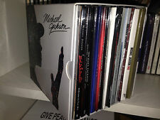 MICHAEL JACKSON XSCAPE RARE BOX PROMO EXCLUSIVE ITALY DIGIPACK 13 CD + 5 DVD