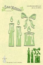 Lea'bilities Cutting and Embossing Die Stencil - CANDLES - Leane 45.9913 REDUCED