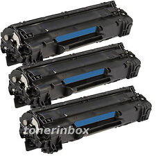 3pk Compatible CE285A 85A Toner For HP Laserjet P1102 P1102W M1132 M1212nf M1217