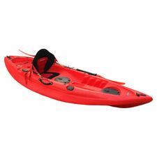 Conwy Kayaks Menai Single Person Fishing Kayak - Red