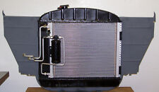 A/C Condenser Assembly, 1955 - 1957 Chevy Full Size, Rad in 6cyl Pos [51-6006]