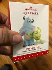 Hallmark Keepsake Ornament Disney/Pixar Monsters Inc. Little Monsters Mike Wa...