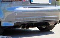 Sport diffuser for Audi A3 8P 03-08 Rear Bumper spoiler S line lip Valance