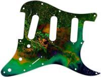 Stratocaster Strat Pickguard Custom Fender SSS 11 Hole Guitar Mississippi Delta