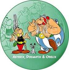 Asterix & Obelix Decoration Gateau Disque Azyme Comestible Anniversaire