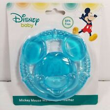 New listing Disney Mickey Mouse Water Filled Teether Teething Toy For Babies Durable - New