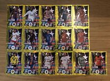 MATCH ATTAX 2020/21 FULL SET OF ALL 16 RISING STAR CARDS RS1-RS16