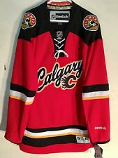 new style 67ae6 7d2f4 Reebok Calgary Flames Jersey NHL Fan Apparel & Souvenirs for ...