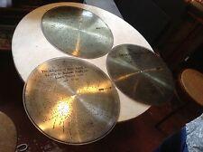 "Lot of 3 Antique Stella 17 1/4"" Music Box Discs"
