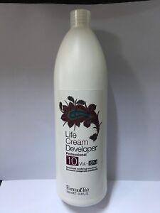 Farmavita Life Cream Developer 3% stabilised oxidizing emulsion 1000ml
