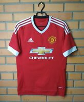 Manchester United Jersey 2015 2016 Shirt Home Soccer SMALL Adidas Football