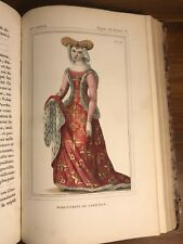 COSTUMES FRANCAIS French Fashion 18 HAND-COLOURED PLATES + 142 Engravings DRESS
