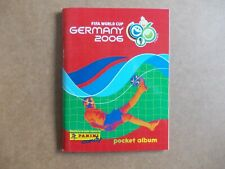 football stickers Panini World Cup 2006 Mini Sticker empty Album