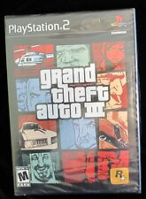 PLAY STATION 2 GAME :GRAND THEFT AUTO 3;  SEALED;  COMPLETE NEW