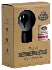 Car Scented Electric Diffuser with MOODY GIRL Pure Essential Oil Blend 10ml