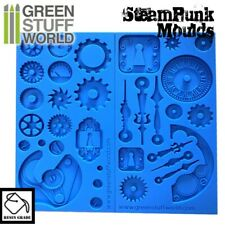 Green Stuff World Steampunk Resin Grade Silicone Mold Set