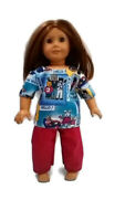 "Scrubs fits American Girl 18"" Doll Clothes Kitty Nurses"