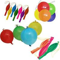 Heavy Duty 15 x Punch Balloons Assorted Colours Latex Celebration Perfect Party