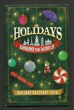 Holidays Around the World Passport 2016 Splendid Disney Guide Booklet
