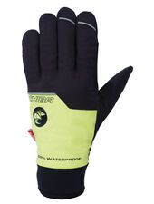 Chiba Rain Pro Waterproof Cycling Glove (Yellow/Black) (Medium)