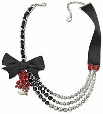 Swarovski Hello Kitty Cat Necklace Crystal NIB $310