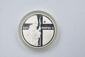 Jan Pawel ii Silver Polish Coin uncirculated 10000