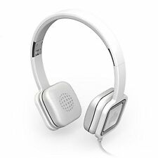 Ministry of Sound Audio on Ear Headphones With Inline Remote & Microphone White