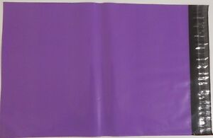 """Purple Coloured Poly Postal Bags Parcel Bags 6.5"""" x 9 165mm x 230mm Post Bags"""