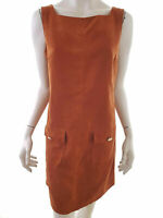 Dorothy perkins Women's Dress EU 42 UK 14 US 12 brown pockets