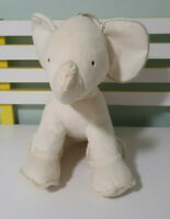 OLLIE'S PLACE ELEPHANT PLUSH TOY STUFFED ANIMAL BIEGE 42CM LONG 32CM TALL