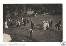 Thetford VT Real Photo Postcard 1911 THE THETFORD PAGEANT Age of Homespun DANCE