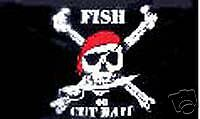 Pirate Fish RV NASCAR Toy Box trailer flag R-0025