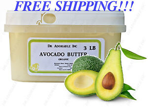REFINED AVOCADO BUTTER BY DR.ADORABLE ORGANIC COLD PRESSED 2 OZ 8OZ UP TO 12LB