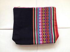 PERUVIAN ANDEAN CLUTCH BAG Peru fabric PT2