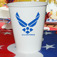 US Air Force Party Supplies HOT / COLD PAPER CUPS