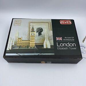 dOvOb London Elizabeth Tower Micro Building Blocks Set 3600 Pcs - New: Open Box