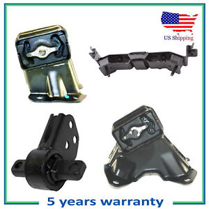 New Motor & Auto Trans Mount For Set 4PCS Jeep Commander Grand Cherokee 3.7L