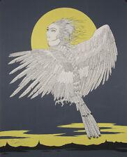 Le rose pleurs : Lithographie signée Félix LABISSE