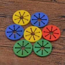 7Pcs Sock Ring Holders Stocking Clip Locks Washing Sorter Color Random