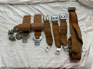 78-82 1978-1982 AMC JEEP Cherokee Chief Seatbelt Rear Seat Retractors/Belts OEM