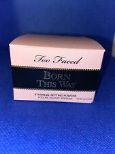 Too Faced Born This Way Ethereal Setting Powder FULL SIZE *NIB*