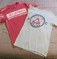 Gracie Barra Brazilian Jiu Jitsu T- Shirts Adult Size Small