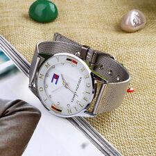 Relojes Deportivos Hombre De Acero Inoxidable Reloj De Reloj De Cuarzo Retro