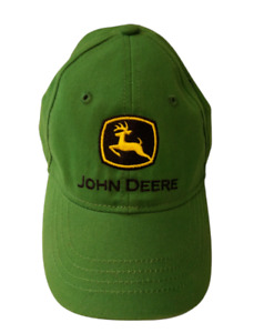 John Deere Kids Ball Cap 100% Cotton With Stretch Back Toddler Size 0/S