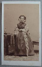 Photo Carte de Visite Cdv Par Disdéri Paris Vers 1860