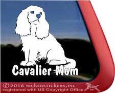 Cavalier Mom | High Quality Vinyl Cavalier King Charles Spaniel Dog Decal