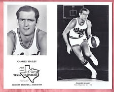 1970  TEXAS CHAPARRALS  TEAM ISSUED  GLOSSY  8 X 10   CHARLES BEASLEY